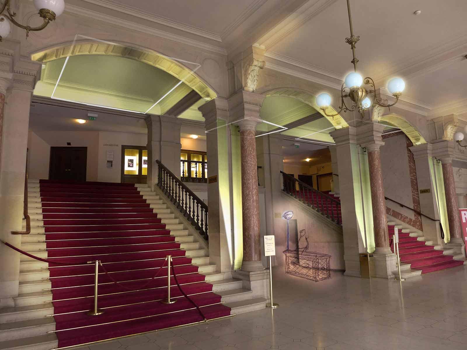 Grand Foyer Theatre Du Chatelet : Concepteur lumière théatre du chatelet